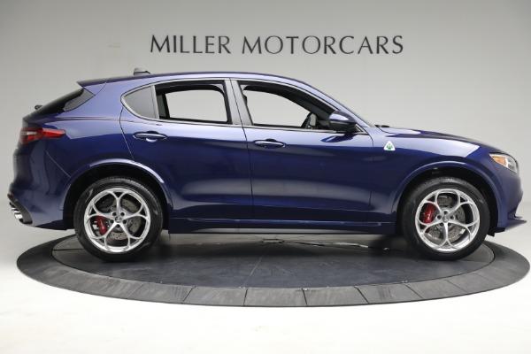 New 2021 Alfa Romeo Stelvio Quadrifoglio for sale $88,550 at Maserati of Westport in Westport CT 06880 9