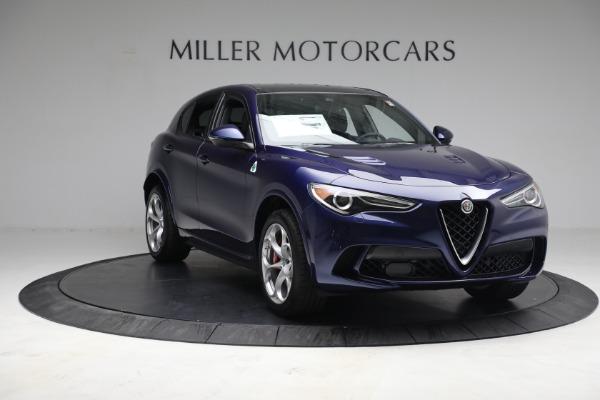New 2021 Alfa Romeo Stelvio Quadrifoglio for sale $88,550 at Maserati of Westport in Westport CT 06880 10