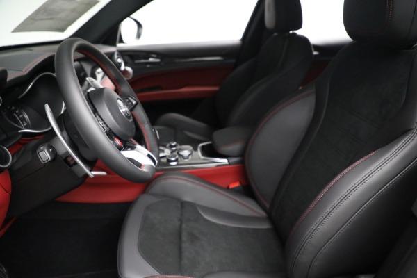 New 2021 Alfa Romeo Stelvio Quadrifoglio for sale $88,550 at Maserati of Westport in Westport CT 06880 14