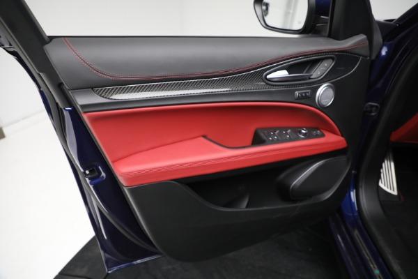 New 2021 Alfa Romeo Stelvio Quadrifoglio for sale $88,550 at Maserati of Westport in Westport CT 06880 16