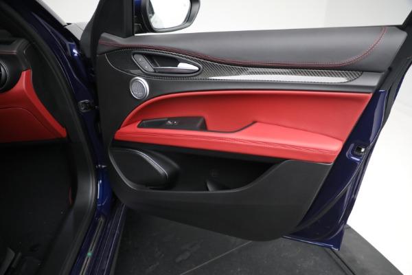 New 2021 Alfa Romeo Stelvio Quadrifoglio for sale $88,550 at Maserati of Westport in Westport CT 06880 23