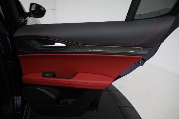 New 2021 Alfa Romeo Stelvio Quadrifoglio for sale $88,550 at Maserati of Westport in Westport CT 06880 26