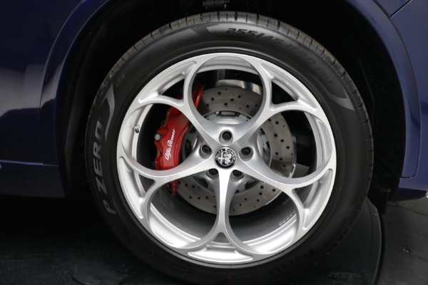 New 2021 Alfa Romeo Stelvio Quadrifoglio for sale $88,550 at Maserati of Westport in Westport CT 06880 27