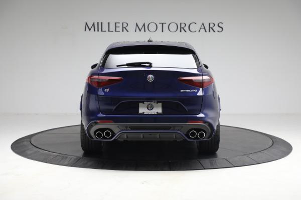 New 2021 Alfa Romeo Stelvio Quadrifoglio for sale $88,550 at Maserati of Westport in Westport CT 06880 6