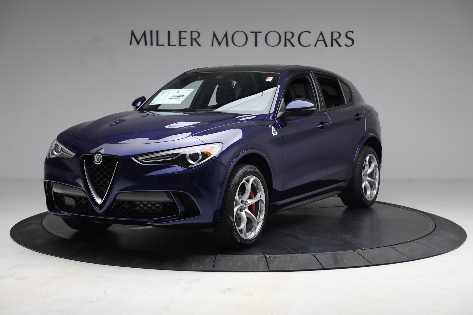 New 2021 Alfa Romeo Stelvio Quadrifoglio for sale $88,550 at Maserati of Westport in Westport CT 06880 1