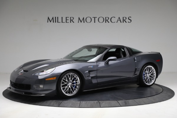 Used 2010 Chevrolet Corvette ZR1 for sale Call for price at Maserati of Westport in Westport CT 06880 2