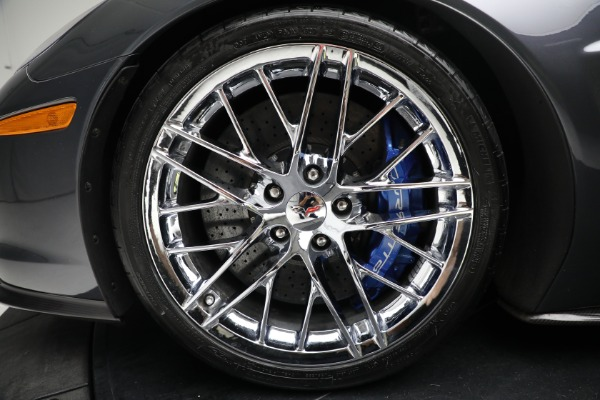 Used 2010 Chevrolet Corvette ZR1 for sale Call for price at Maserati of Westport in Westport CT 06880 23
