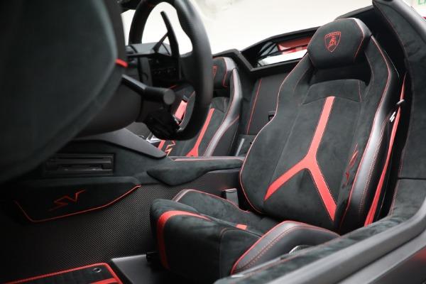 Used 2017 Lamborghini Aventador LP 750-4 SV for sale $589,900 at Maserati of Westport in Westport CT 06880 21