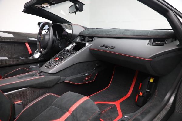 Used 2017 Lamborghini Aventador LP 750-4 SV for sale $589,900 at Maserati of Westport in Westport CT 06880 22