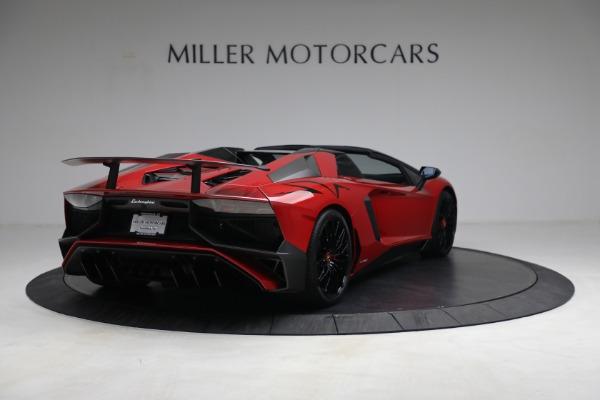 Used 2017 Lamborghini Aventador LP 750-4 SV for sale $589,900 at Maserati of Westport in Westport CT 06880 7