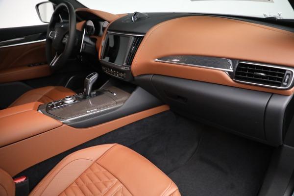 New 2021 Maserati Levante S GranSport for sale $112,899 at Maserati of Westport in Westport CT 06880 19