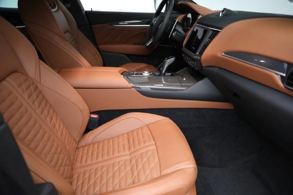 New 2021 Maserati Levante S GranSport for sale $112,899 at Maserati of Westport in Westport CT 06880 20