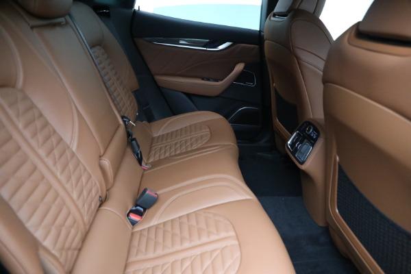New 2021 Maserati Levante S GranSport for sale $112,899 at Maserati of Westport in Westport CT 06880 23