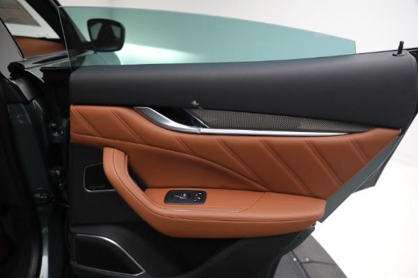 New 2021 Maserati Levante S GranSport for sale $112,899 at Maserati of Westport in Westport CT 06880 24