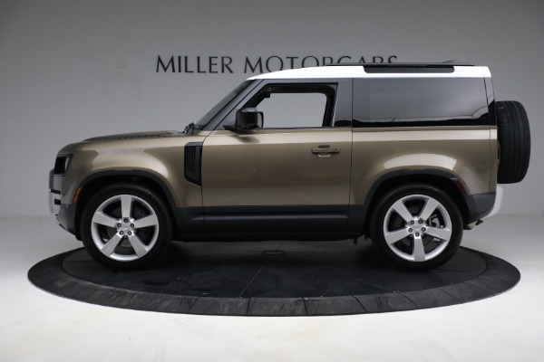 Used 2021 Land Rover Defender 90 First Edition for sale $69,900 at Maserati of Westport in Westport CT 06880 13