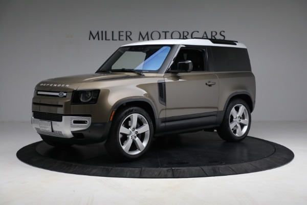 Used 2021 Land Rover Defender 90 First Edition for sale $69,900 at Maserati of Westport in Westport CT 06880 2