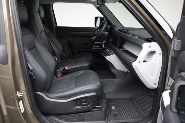 Used 2021 Land Rover Defender 90 First Edition for sale $69,900 at Maserati of Westport in Westport CT 06880 22
