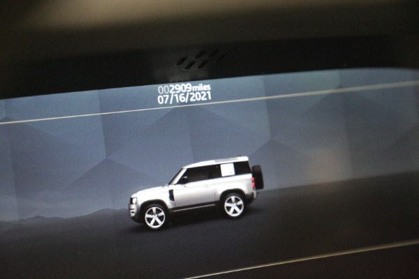 Used 2021 Land Rover Defender 90 First Edition for sale $69,900 at Maserati of Westport in Westport CT 06880 24