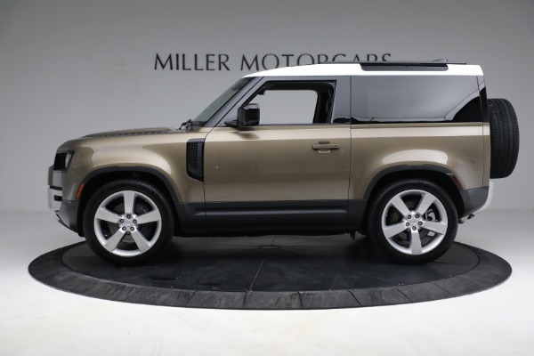 Used 2021 Land Rover Defender 90 First Edition for sale $69,900 at Maserati of Westport in Westport CT 06880 3
