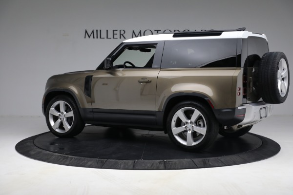 Used 2021 Land Rover Defender 90 First Edition for sale $69,900 at Maserati of Westport in Westport CT 06880 4