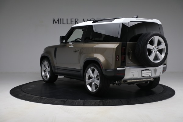 Used 2021 Land Rover Defender 90 First Edition for sale $69,900 at Maserati of Westport in Westport CT 06880 5