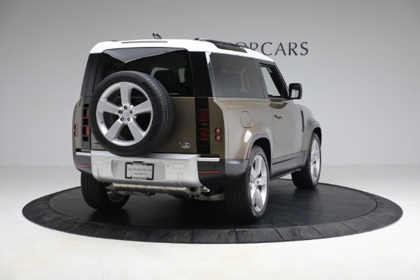 Used 2021 Land Rover Defender 90 First Edition for sale $69,900 at Maserati of Westport in Westport CT 06880 7