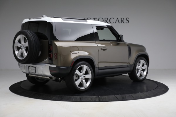 Used 2021 Land Rover Defender 90 First Edition for sale $69,900 at Maserati of Westport in Westport CT 06880 8