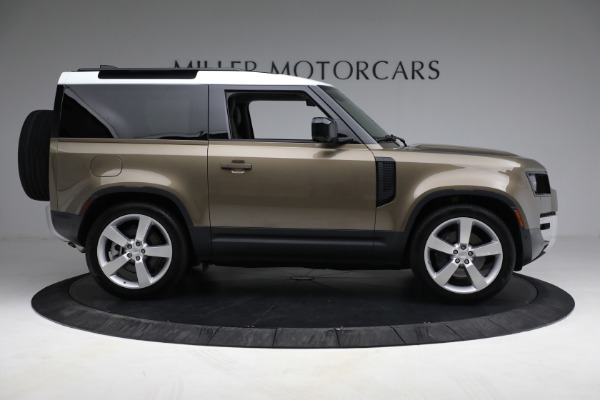 Used 2021 Land Rover Defender 90 First Edition for sale $69,900 at Maserati of Westport in Westport CT 06880 9