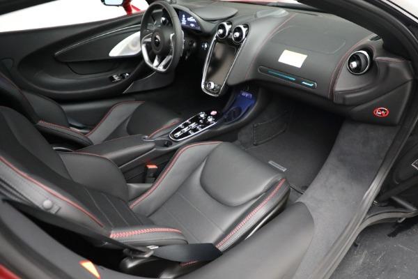 New 2021 McLaren GT Luxe for sale $217,275 at Maserati of Westport in Westport CT 06880 25