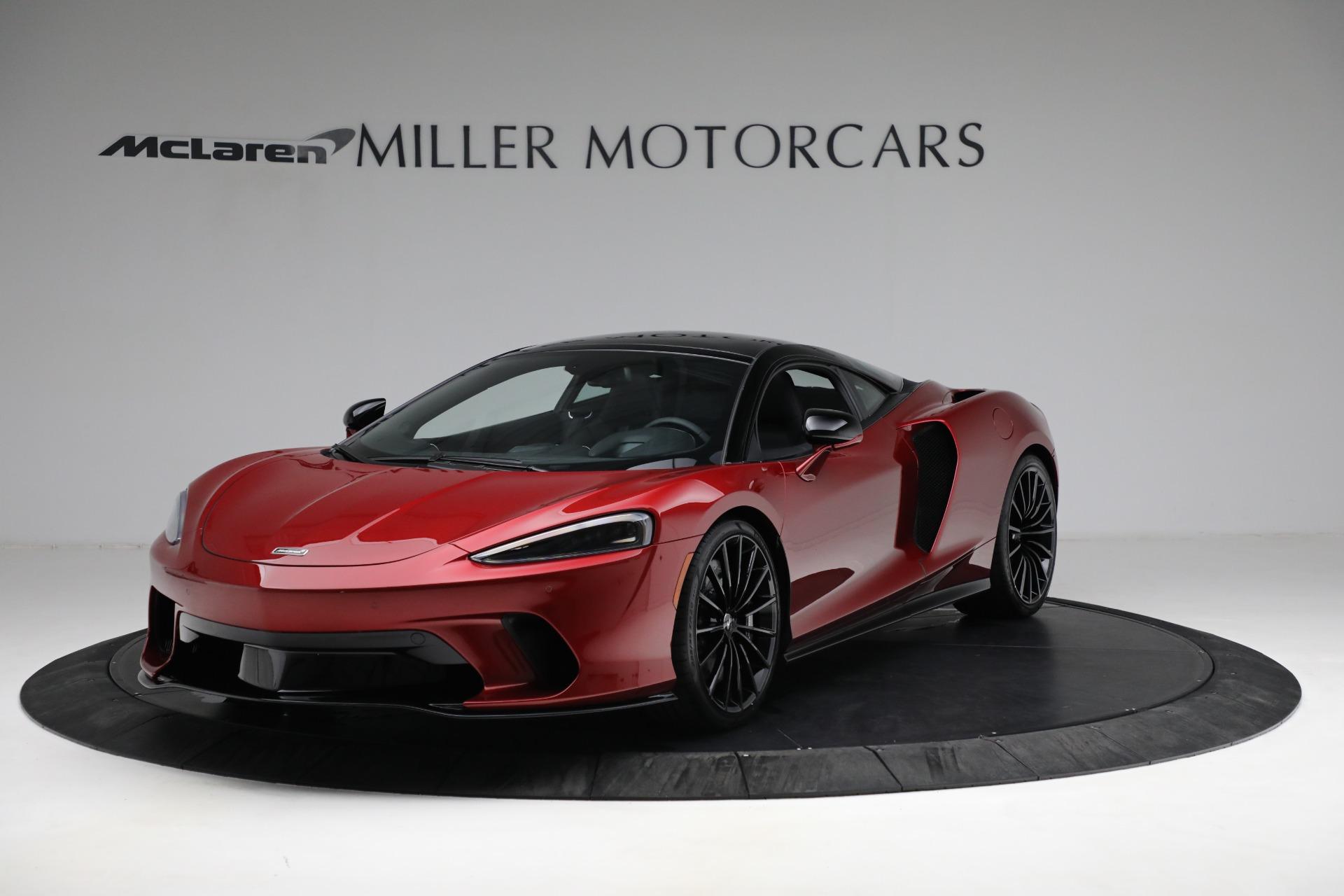 New 2021 McLaren GT for sale $217,275 at Maserati of Westport in Westport CT 06880 1