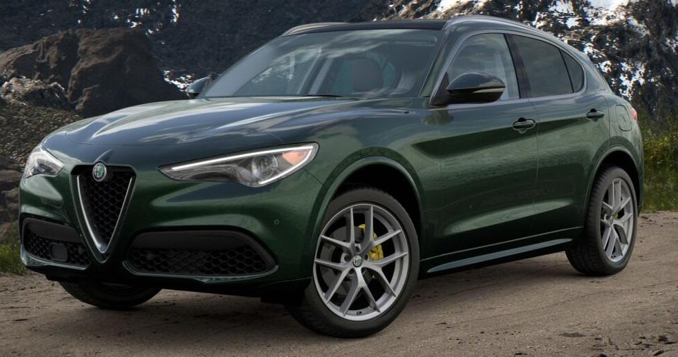 New 2021 Alfa Romeo Stelvio Ti for sale $57,750 at Maserati of Westport in Westport CT 06880 1