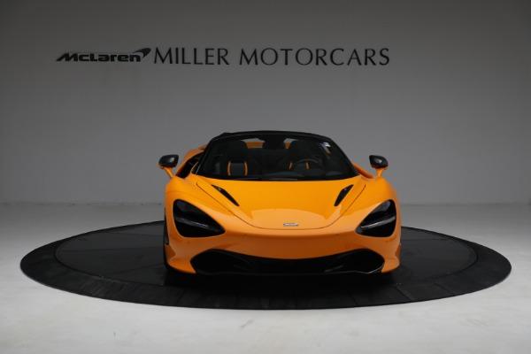 New 2021 McLaren 720S Spider for sale $378,110 at Maserati of Westport in Westport CT 06880 12