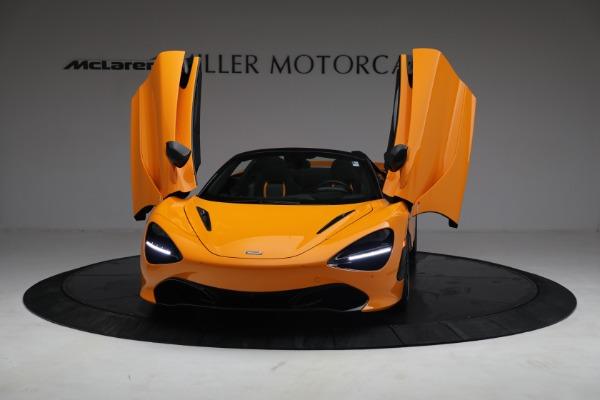 New 2021 McLaren 720S Spider for sale $378,110 at Maserati of Westport in Westport CT 06880 13