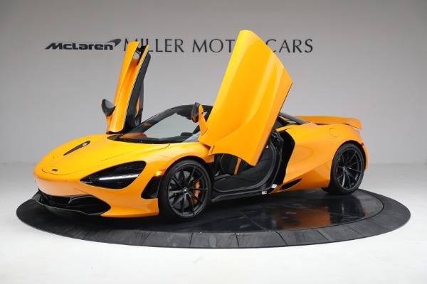 New 2021 McLaren 720S Spider for sale $378,110 at Maserati of Westport in Westport CT 06880 14