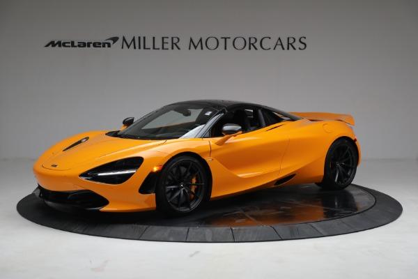 New 2021 McLaren 720S Spider for sale $378,110 at Maserati of Westport in Westport CT 06880 15