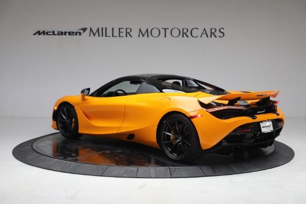New 2021 McLaren 720S Spider for sale $378,110 at Maserati of Westport in Westport CT 06880 17