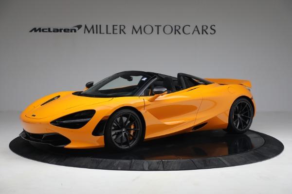 New 2021 McLaren 720S Spider for sale $378,110 at Maserati of Westport in Westport CT 06880 2