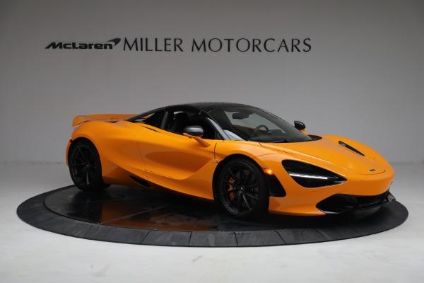 New 2021 McLaren 720S Spider for sale $378,110 at Maserati of Westport in Westport CT 06880 21