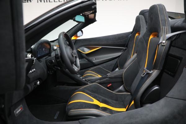 New 2021 McLaren 720S Spider for sale $378,110 at Maserati of Westport in Westport CT 06880 25
