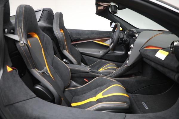 New 2021 McLaren 720S Spider for sale $378,110 at Maserati of Westport in Westport CT 06880 28