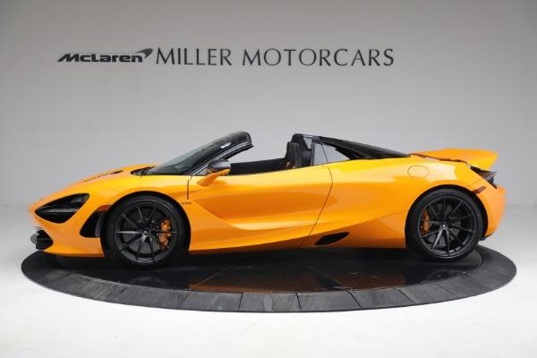 New 2021 McLaren 720S Spider for sale $378,110 at Maserati of Westport in Westport CT 06880 3