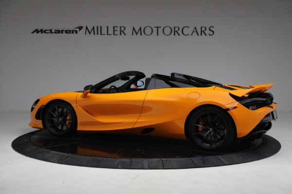 New 2021 McLaren 720S Spider for sale $378,110 at Maserati of Westport in Westport CT 06880 4