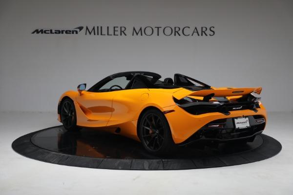 New 2021 McLaren 720S Spider for sale $378,110 at Maserati of Westport in Westport CT 06880 5