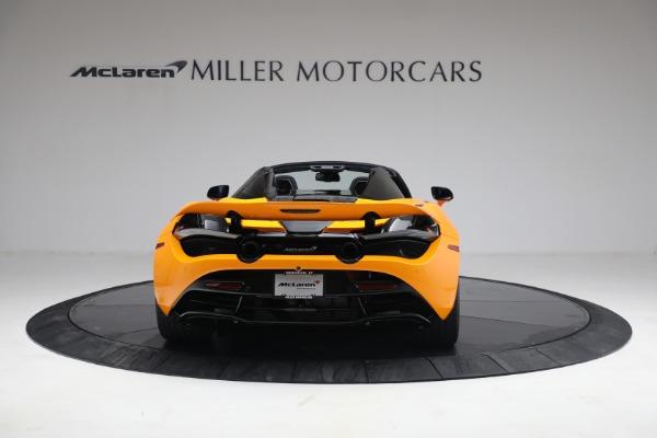 New 2021 McLaren 720S Spider for sale $378,110 at Maserati of Westport in Westport CT 06880 6
