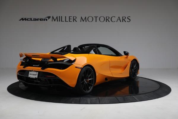 New 2021 McLaren 720S Spider for sale $378,110 at Maserati of Westport in Westport CT 06880 7