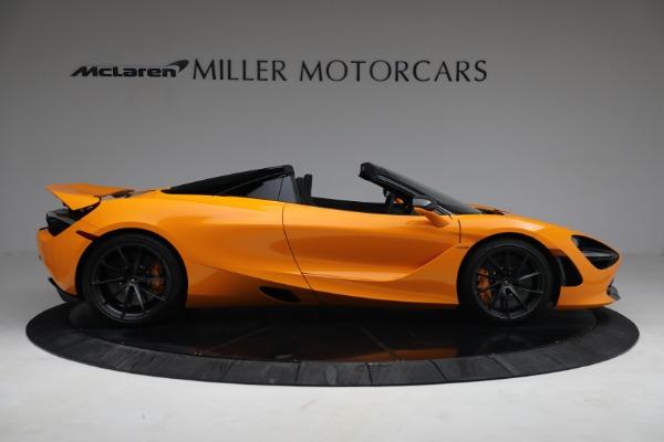 New 2021 McLaren 720S Spider for sale $378,110 at Maserati of Westport in Westport CT 06880 9