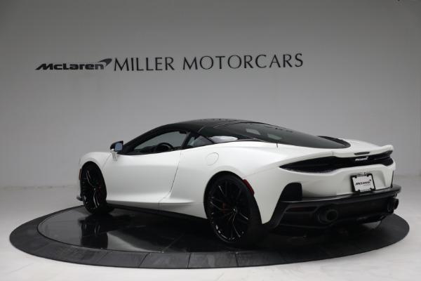 New 2021 McLaren GT Luxe for sale $217,205 at Maserati of Westport in Westport CT 06880 5