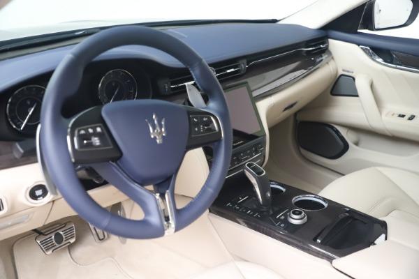 New 2021 Maserati Quattroporte S Q4 GranLusso for sale $126,149 at Maserati of Westport in Westport CT 06880 13