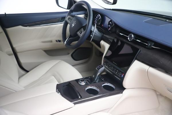 New 2021 Maserati Quattroporte S Q4 GranLusso for sale $126,149 at Maserati of Westport in Westport CT 06880 18
