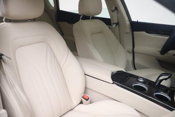 New 2021 Maserati Quattroporte S Q4 GranLusso for sale $126,149 at Maserati of Westport in Westport CT 06880 20